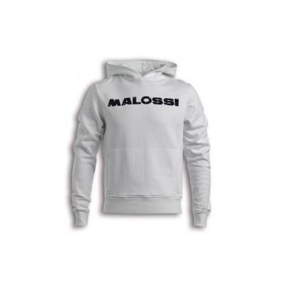Sweat Malossi Pole position blanc