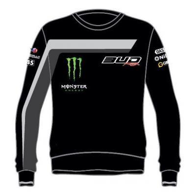 Sweat Staff Bud Racing 18 gris/noir