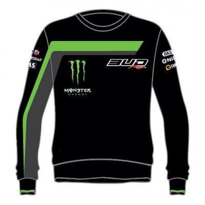 Sweat Staff Bud Racing 18 vert/noir