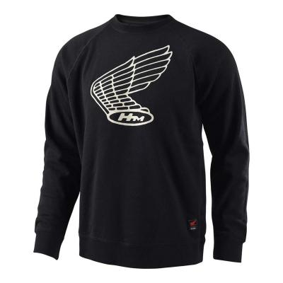 Sweat Troy Lee Designs Honda Wing Crew noir