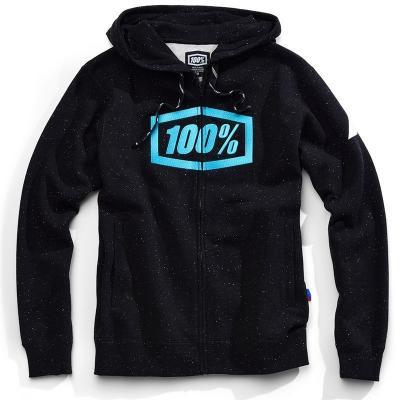 Sweat zip capuche 100% Syndicate noir
