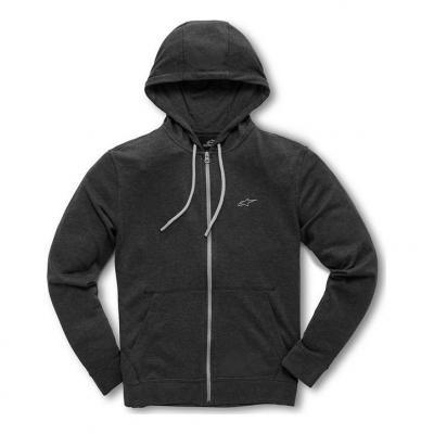 Sweat zippé à capuche Alpinestars Bona Fide II noir
