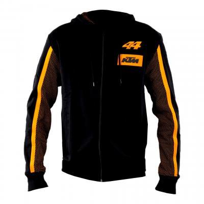 Sweat zippé à capuche Pol Espargaro KTM noir/orange