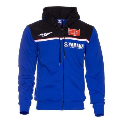Sweat zippé à capuche Yamaha Fabio Quartararo 20 bleu/noir