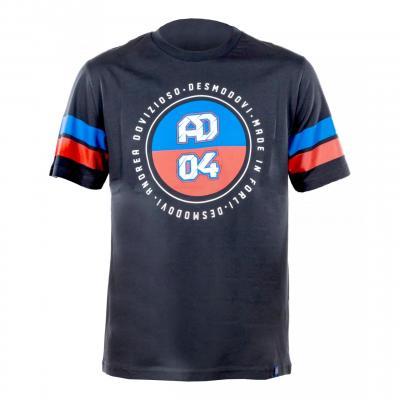 T-Shirt Andrea Dovizioso AD 04 gris foncé