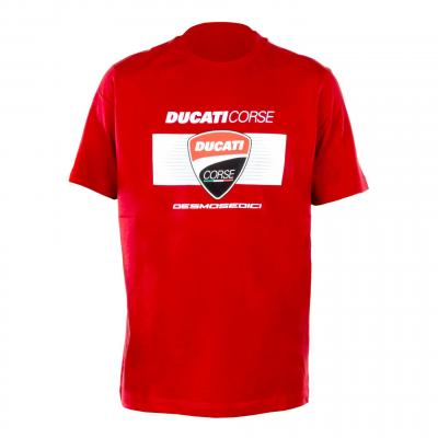 T-Shirt Ducati Racing rouge