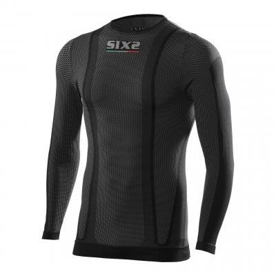 T-shirt été manches longues Sixs TS2L carbon black