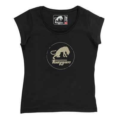 T-shirt femme Furygan Eryka noir/métal