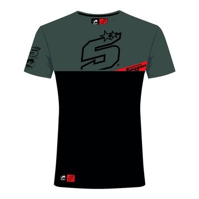 T-shirt Furygan JZ5 Zone Zarco noir/gris chiné