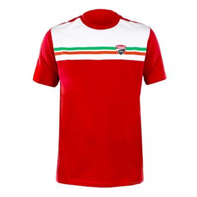 T-Shirt Italy Ducati Racing rouge