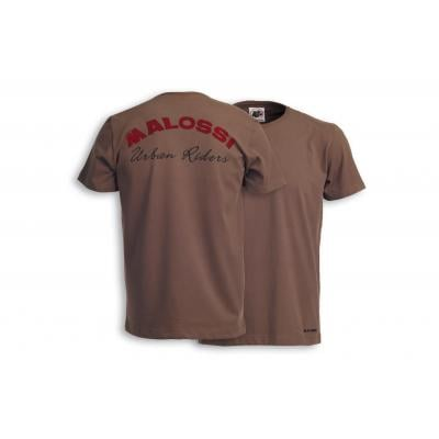 T-shirt Malossi Riders marron