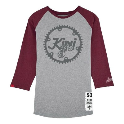T-shirt manches longues femme Kini Red Bull Ritze gris/rouge