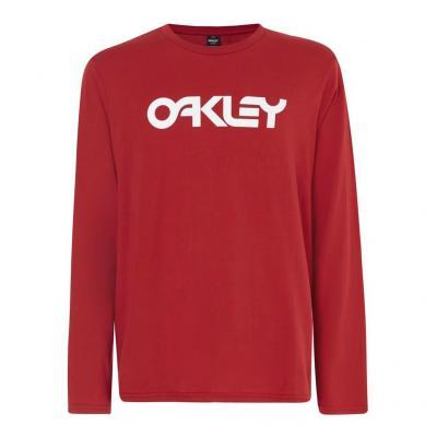 T-Shirt manches longues Oakley Mark II Samba Red