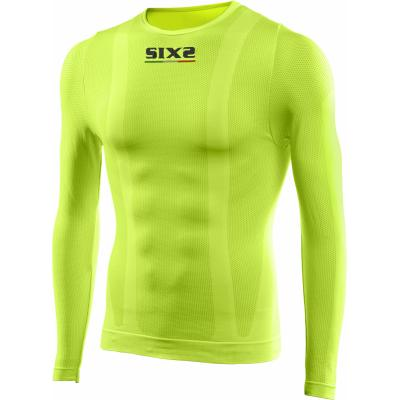T-shirt manches longues Sixs TS2 jaune fluo