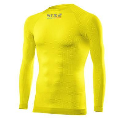 T-shirt manches longues Sixs TS2 jaune