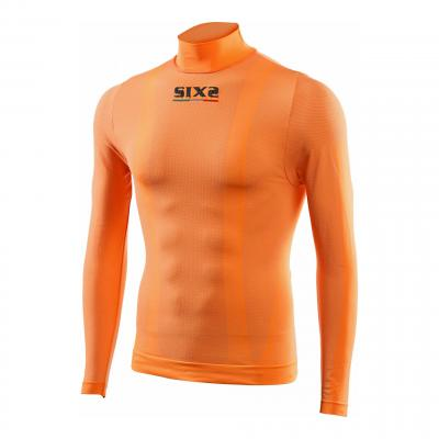T-Shirt manches longues Sixs TS3 orange fluo