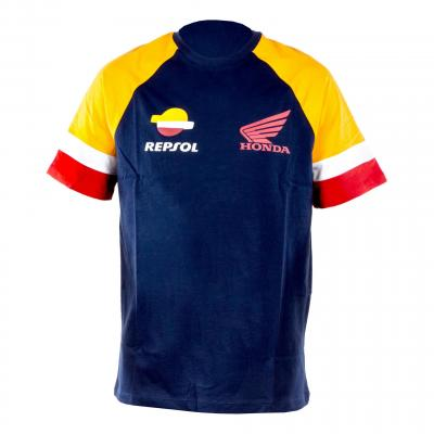 T-Shirt Repsol Classic navy/orange/rouge