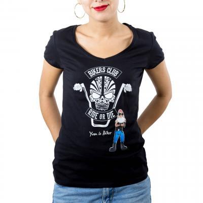 T-Shirt Ride or Die Femme