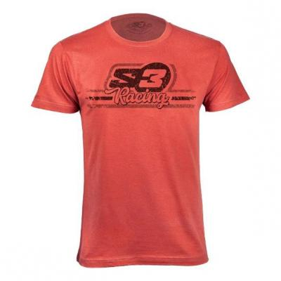 T-shirt S3 Casual Racing rouge