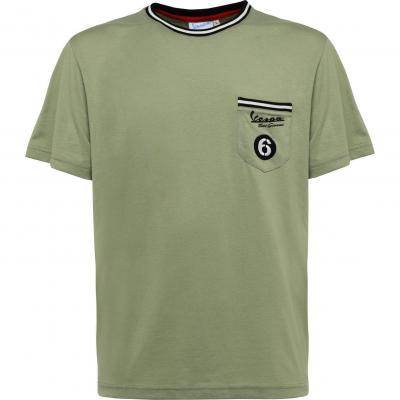 T-shirt Vespa Sei Giorni vert