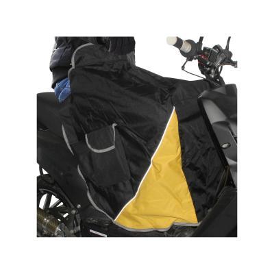 Tablier couvre jambe universel noir intérieur velours