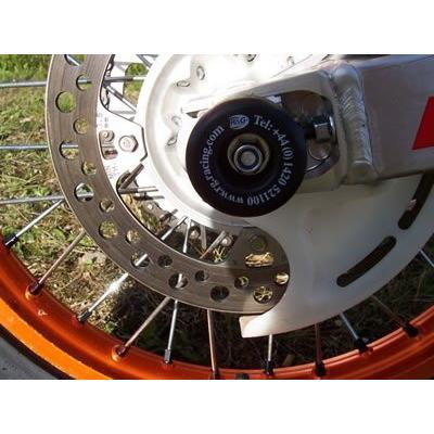 Tampons de bras oscillant R&G Racing noir Honda CRF 450 R 13-14