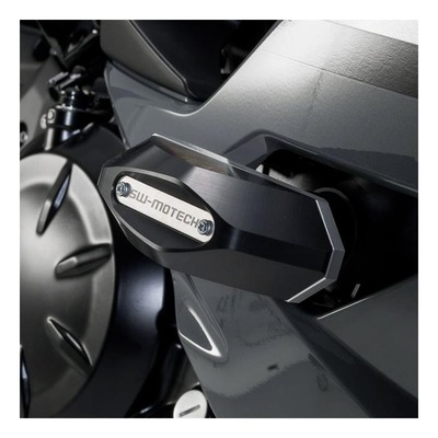 Tampons de protection SW-Motech noir Kawasaki Ninja 650 17-20