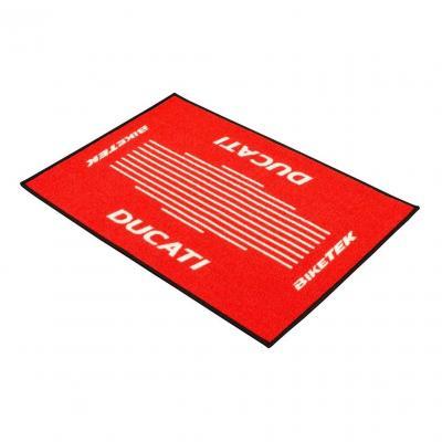 Tapis d'entrée BikeTek Serie 3 Ducati rouge 90x60cm