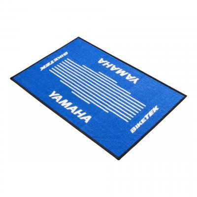 Tapis d'entrée BikeTek Serie 3 Yamaha bleu 90x60cm