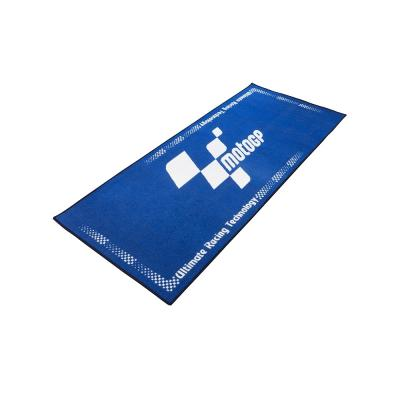 Tapis de garage MotoGP bleu 190x80 cm