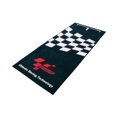 Tapis de garage MotoGP noir 190x80 cm