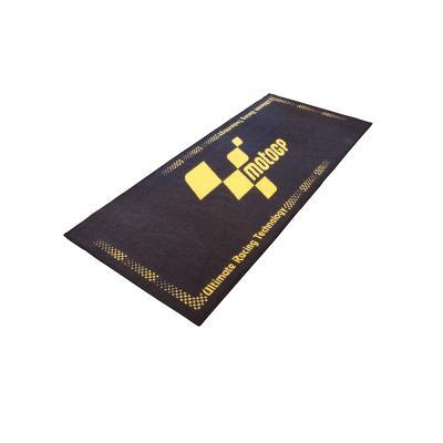 Tapis de garage MotoGP noir / jaune 190x80 cm