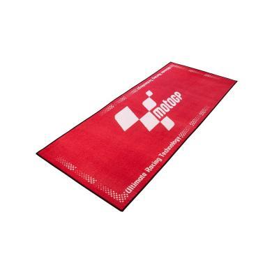 Tapis de garage MotoGP rouge 190x80 cm