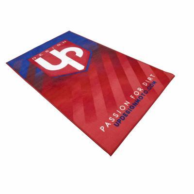 Tapis environnemental UP Design rouge/bleu 100x160 cm