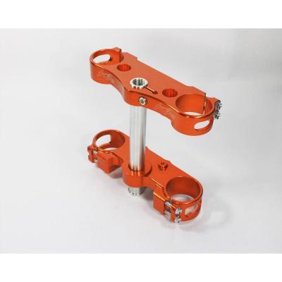 Té de fourche Kite KTM 250 SX 13-17 Offset 22mm orange