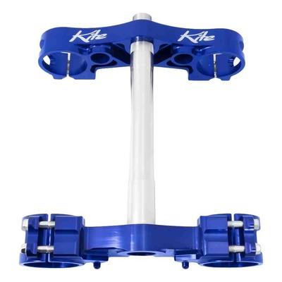 Té de fourche Kite MX-EN bleu pour Yamaha YZ 125 15-20 offset 25mm