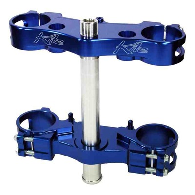 Té de fourche Kite MX-EN bleu pour Yamaha YZ 250 F 12-18 offset 21,5mm