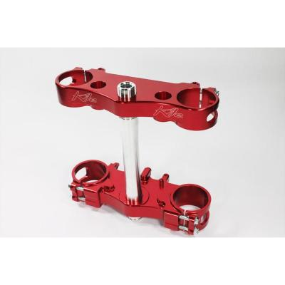 Té de fourche Kite Suzuki 450 RM-Z 13-14 Offset 21,5mm rouge