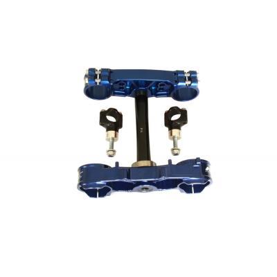 Té de fourche standard Neken Kawasaki KXF 250F/450F 14-17 bleu