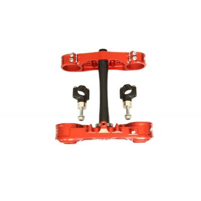 Té de fourche standard Neken Suzuki RMZ 250 14-15 rouge