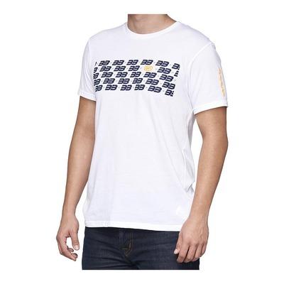 Tee-shirt 100% BB33 Brad Binder Repeat blanc