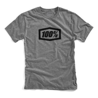 Tee-shirt 100% Essential gunmetal heather