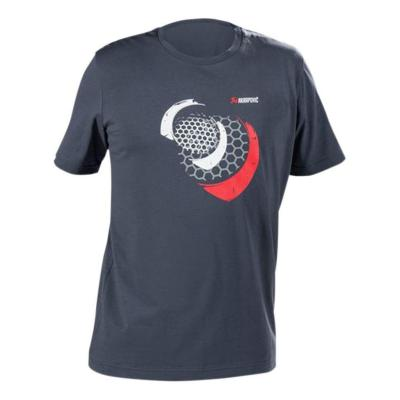 Tee-Shirt Akrapovic Mesh bleu