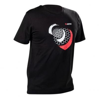 Tee-Shirt Akrapovic Mesh noir