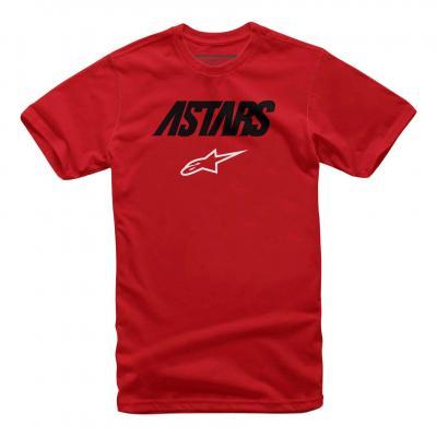 Tee-shirt Alpinestars Angle combo rouge