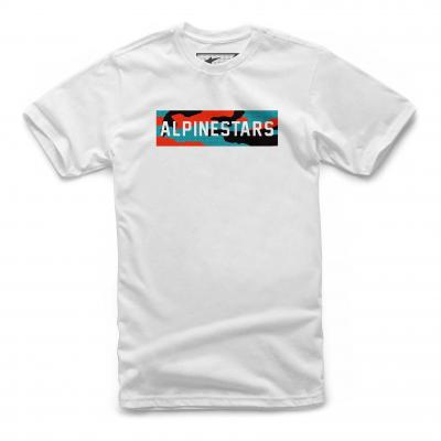 Tee-shirt Alpinestars Blast blanc