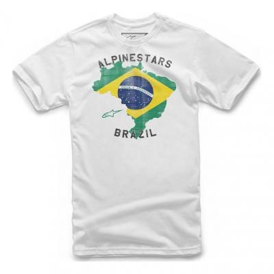 Tee-shirt Alpinestars Brazil blanc