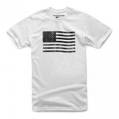 Tee-shirt Alpinestars Flag blanc