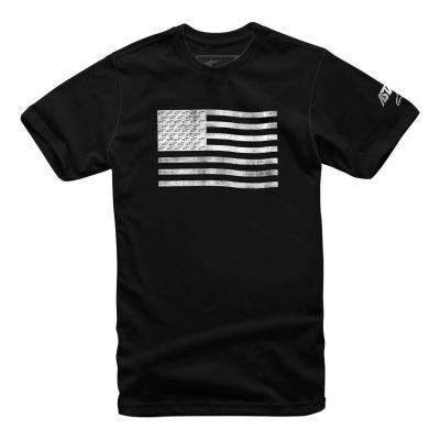 Tee-shirt Alpinestars Flag noir