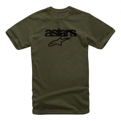 Tee-shirt Alpinestars Heritage blaze militaire vert